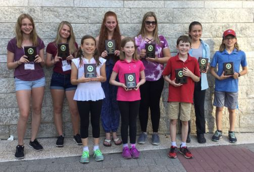 Kingston Students Receive Plaques