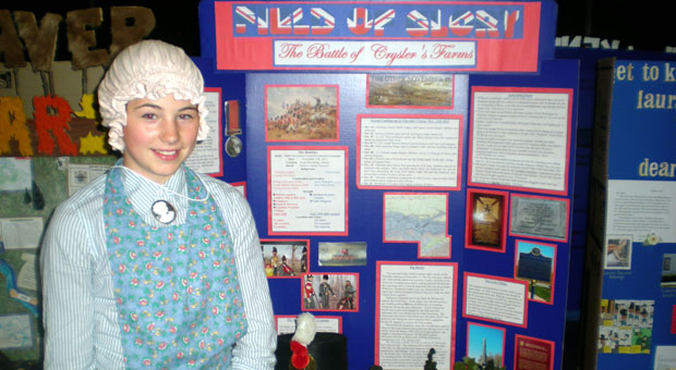 Adriana's project Field of Glory-The Battle of Crysler's Farm