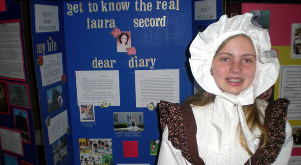 Ally's project Get to know the real Laura Secord.