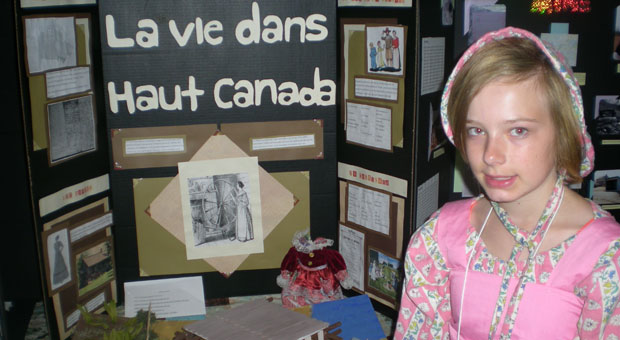 Livia La vie au Haut Canada