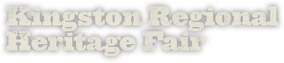 Kingston Regional Heritage Fair